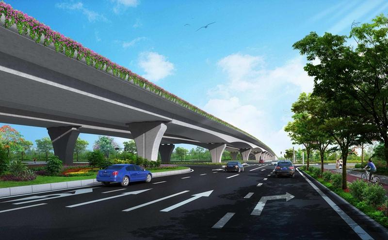 临颍县城区外环线道路建设项目2