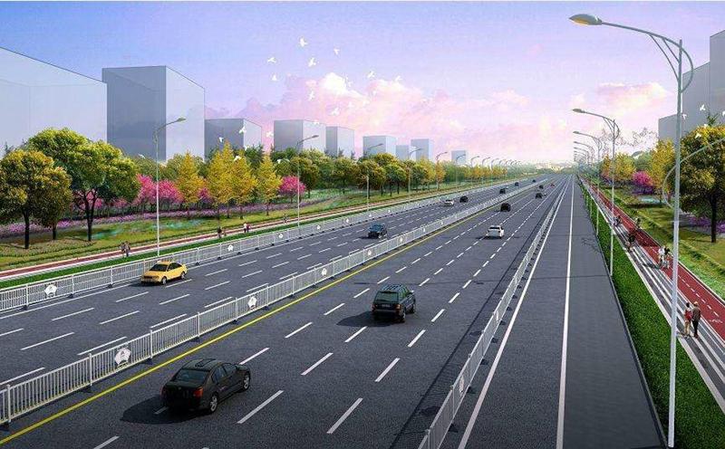 商丘市城乡一体化示范区长江路(睢阳大道-星林路)道路提升改造工程施工
